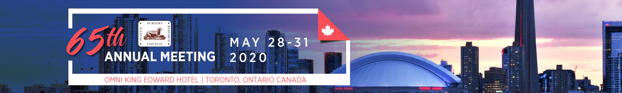 Join Us in Toronto in 2020!